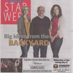 Backyard Inventors - Toronto Star May 1 2012